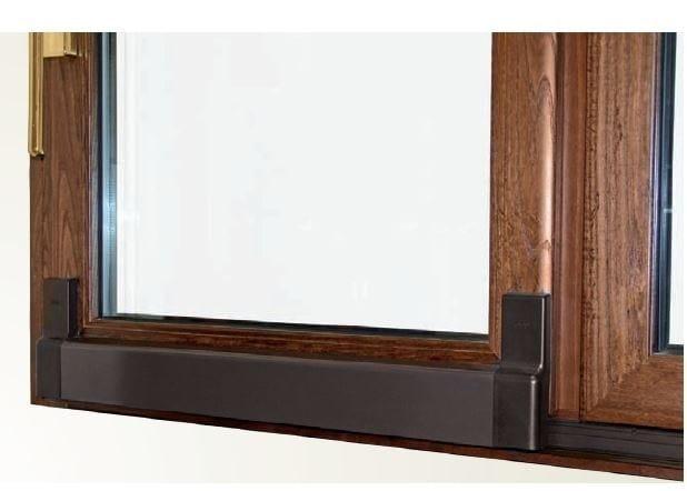 Finestra scorrevole in alluminio e legno gold evolution for Finestra esterna scorrevole