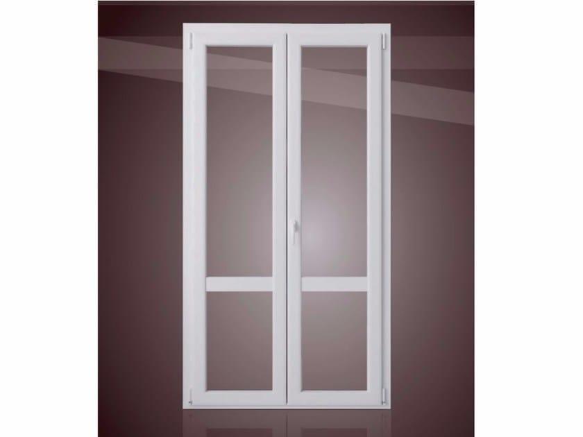 Porta finestra a taglio termico in alluminio e legno gold evolution tt650 porta finestra in - Porta finestra legno ...