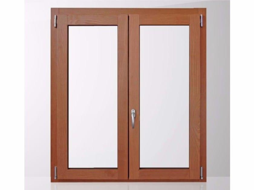 Finestra a taglio termico con doppio vetro in alluminio e legno gold evolution tt650 quadra by - Finestre in legno con doppio vetro ...