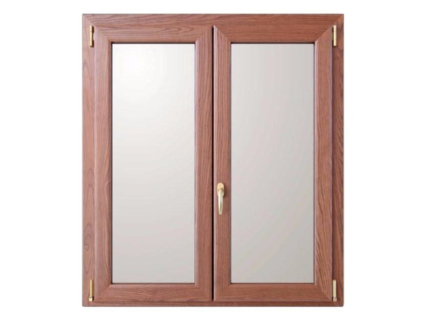 Finestra a taglio termico ad anta ribalta in alluminio e legno gold evolution tt650 finestra - Finestra mobile cos e ...