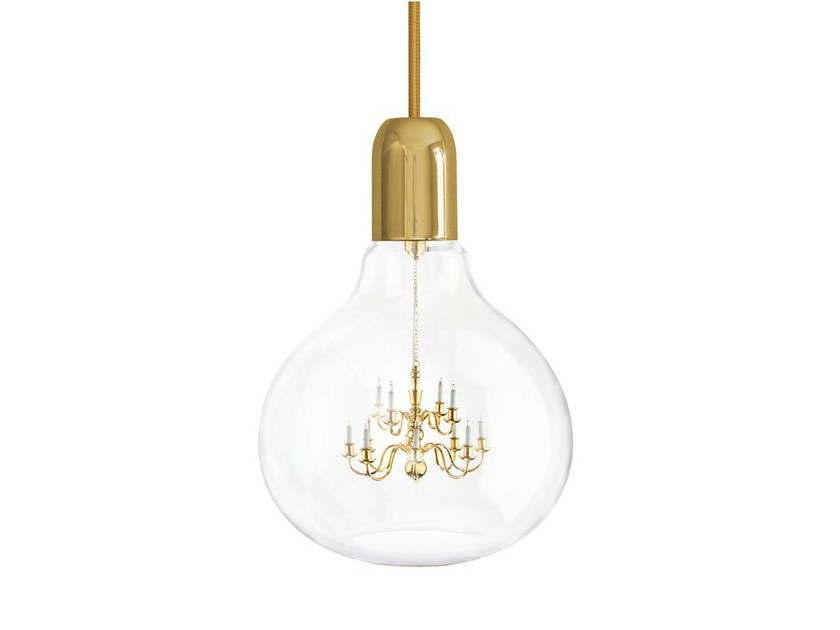 Pendant lamp GOLD KING EDISON by Mineheart