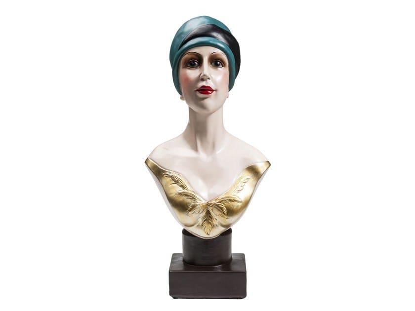 Scultura in resina GOLDEN TWENTIES LADY - KARE-DESIGN