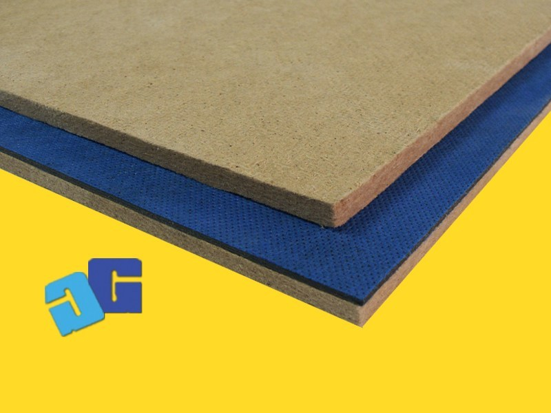 Sound insulation panel GOMMAPAN WOOD - GHIROTTO TECNO INSULATION