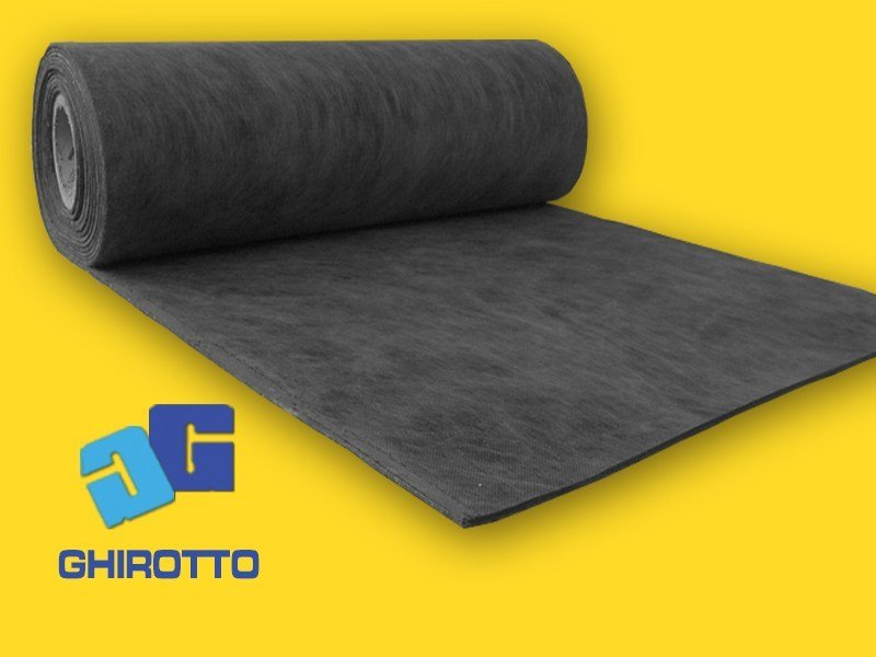 Sound insulation and sound absorbing felt with lead-laminate GOMMASOUND 5 | Sound insulation and sound absorbing felt with lead-laminate - GHIROTTO TECNO INSULATION