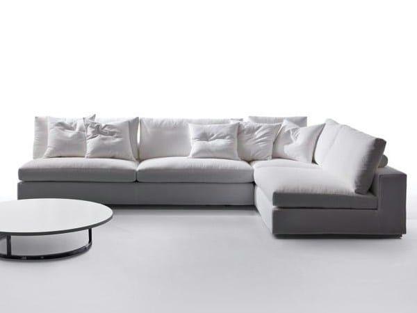 Corner sectional fabric sofa GORDON | Corner sofa - Marac