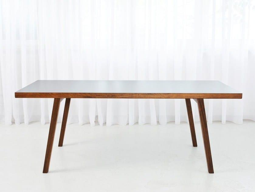 Rectangular table GRACE - MORGEN Interiors