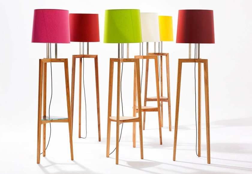 Wooden floor lamp GRACE PLUS by sixay furniture