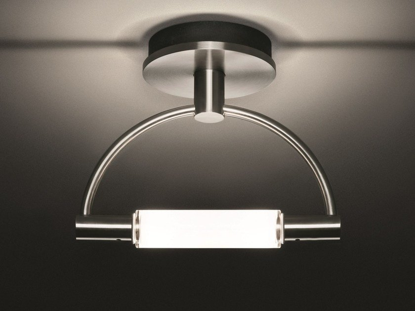 LED indirect light steel ceiling/wall lamp GRADIMINISOFFITTO LED - Cini&Nils