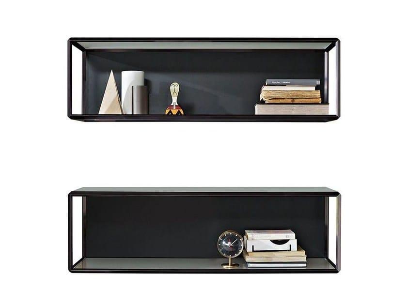 Wall-mounted crystal bookcase GRADO° - MOLTENI & C.