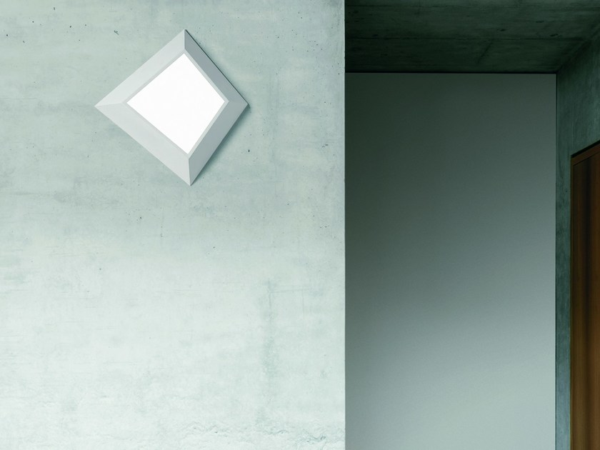 Glass wall lamp / ceiling lamp GRADO - Sforzin Illuminazione