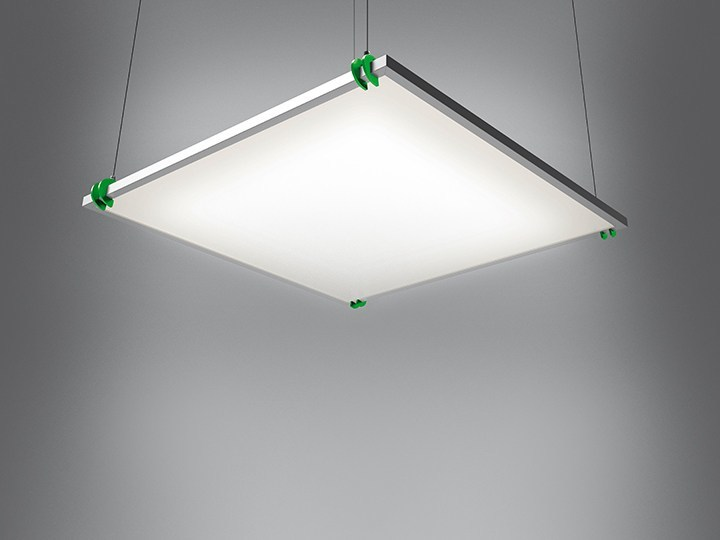 Suspended modular panel light GRAFA STAND ALONE - Artemide