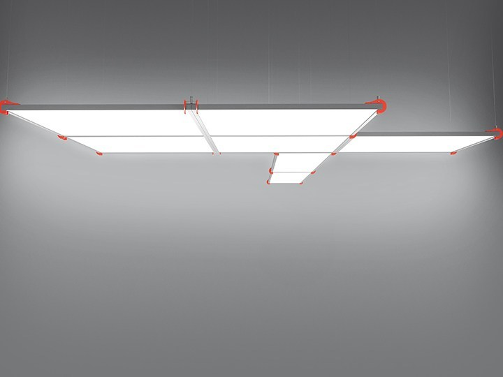 LED aluminium pendant lamp GRAFA SYSTEM by Artemide