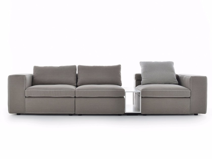 Contemporary style sectional upholstered fabric sofa GRAFO | Sectional sofa - MDF Italia