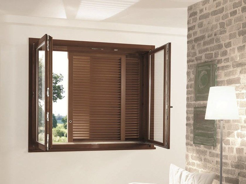 Subframe with double doors for shutters GRANBELVEDERE - SCRIGNO