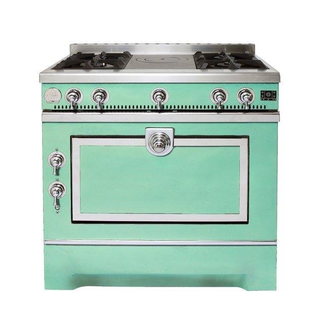 Stainless steel cooker GRAND MAMAN 90 - La Cornue