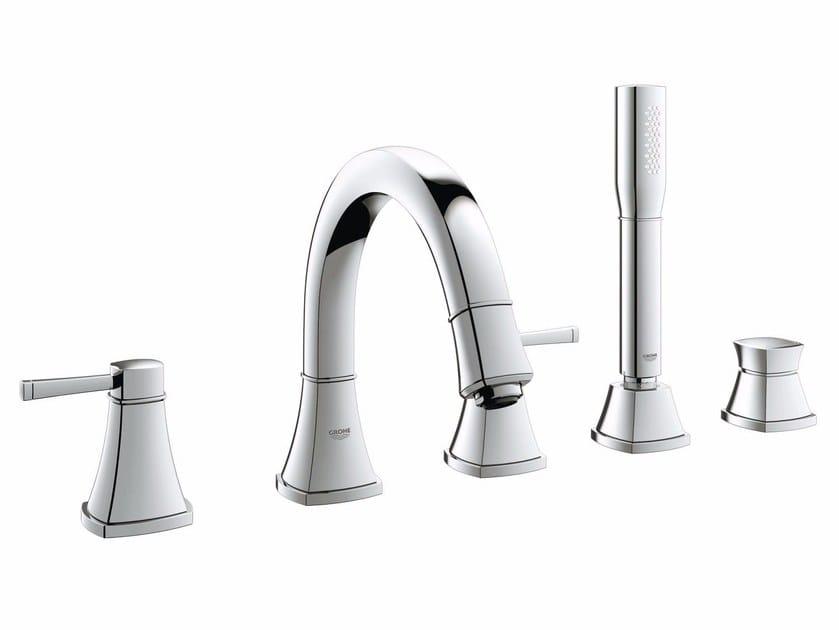 Bathtub set with hand shower GRANDERA™ | 5 hole bathtub set by Grohe