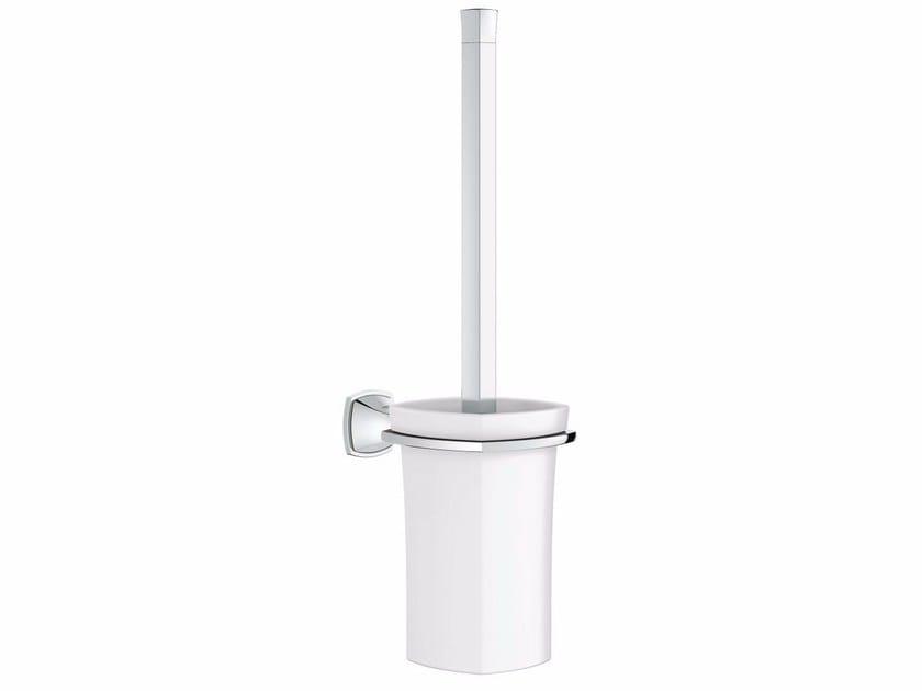 Wall-mounted ceramic toilet brush GRANDERA™ | Toilet brush by Grohe