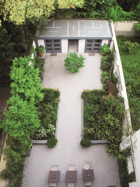 Caillebotis pour gazon en plastique gravelfix by granulati for Caillebotis pour jardin
