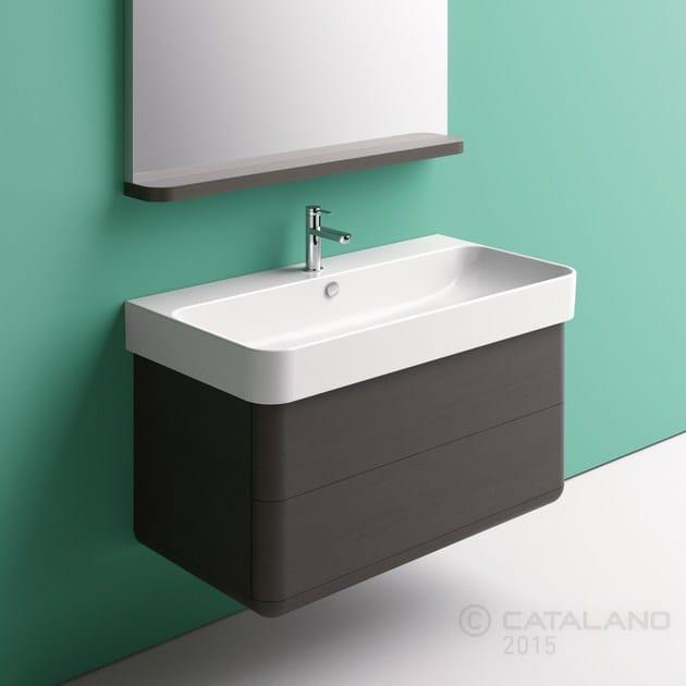 Ceramic washbasin GREEN 100 - CERAMICA CATALANO