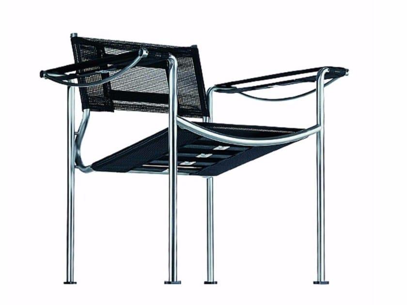 Stackable garden armchair with armrests GREEN - 209_O - Alias