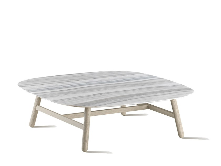 Square coffee table GREEN | Coffee table by L'Origine