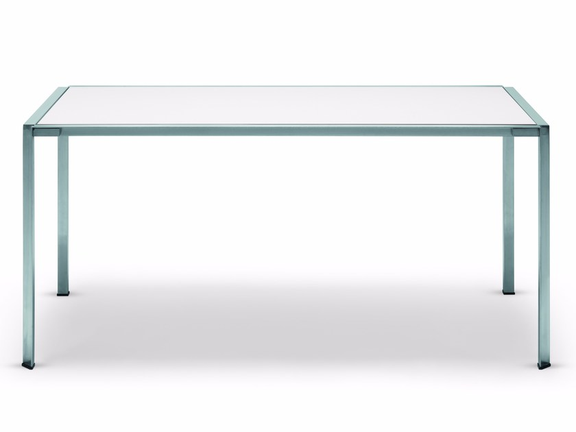 Rectangular Dekton® garden table GREEN | Dekton® table - Alias