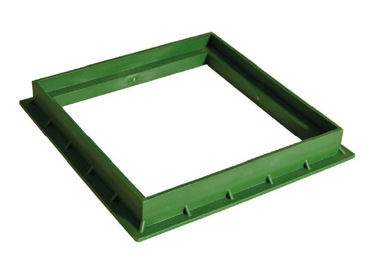 Manhole cover and grille for plumbing and drainage system GREEN FRAME by Dakota