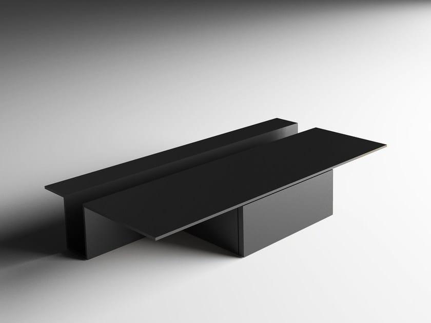 Low rectangular coffee table GREK - Living Divani