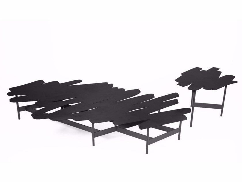 Lacquered steel coffee table GRIBOUILLE - ROCHE BOBOIS