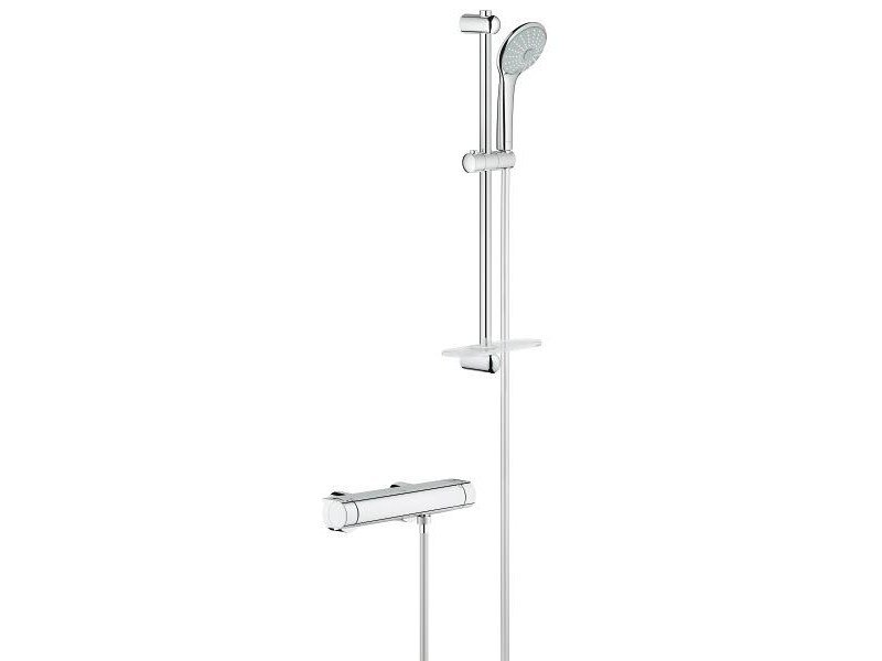 Thermostatic shower mixer with hand shower GROHTHERM 2000 | 2 hole thermostatic shower mixer - Grohe