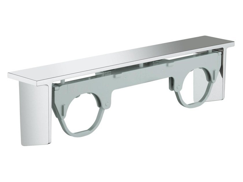 Metal bathroom wall shelf GROHTHERM 2000 | Bathroom wall shelf - Grohe