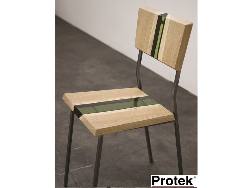 Wooden chair GROOVE | Chair - PROTEK®