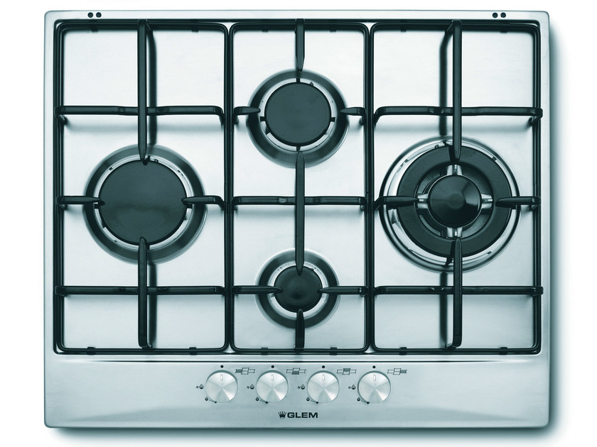 Gas built-in hob GT645IX | Hob - Glem Gas