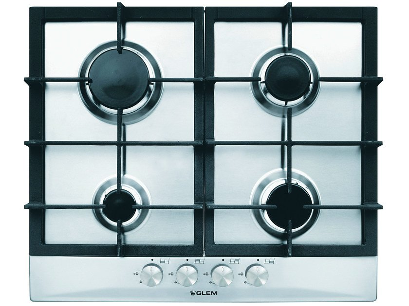 Gas built-in hob GT64HIX | Hob - Glem Gas