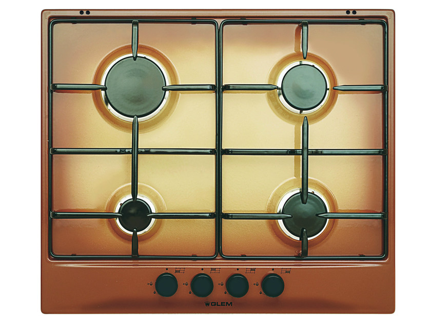 Gas built-in hob GT64TF | Hob - Glem Gas