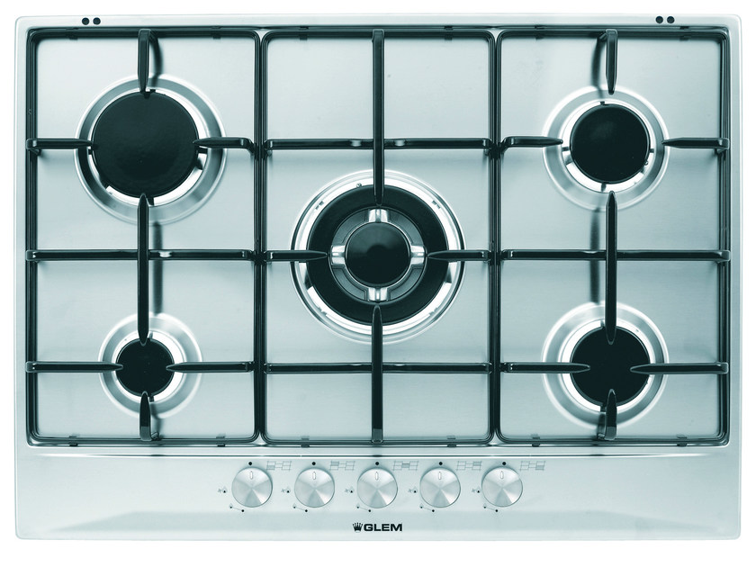 Gas built-in hob GT755IX | Hob - Glem Gas