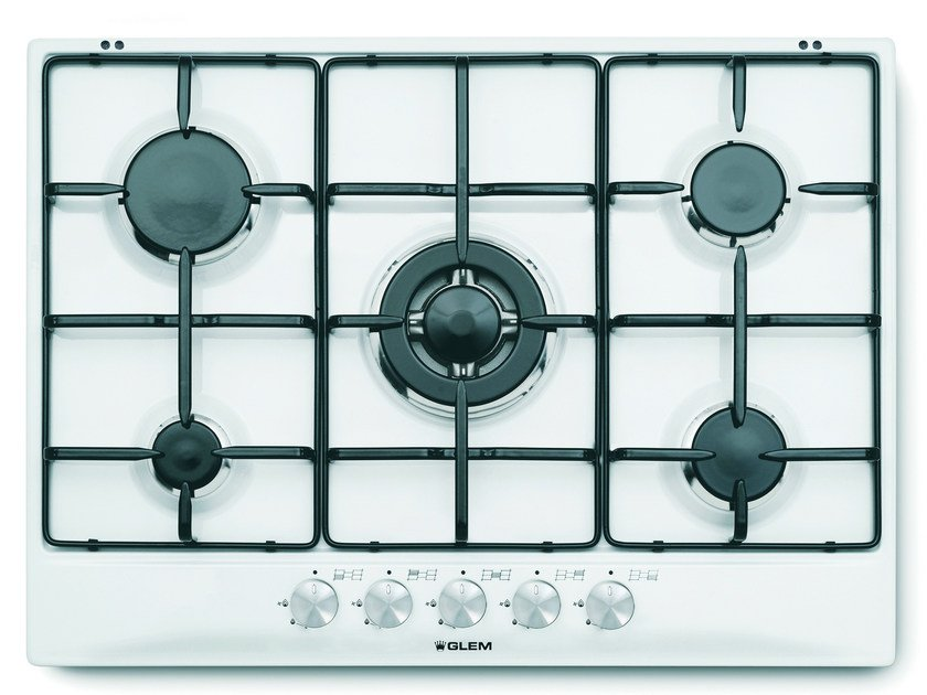 Gas built-in hob GT755WH | Hob - Glem Gas
