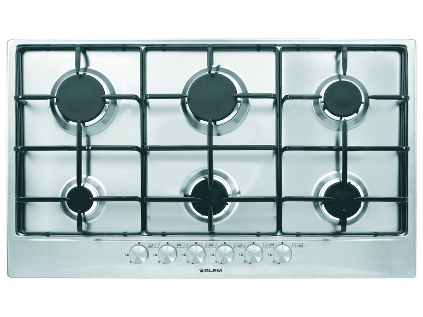Gas built-in hob GT96IX | Hob by Glem Gas