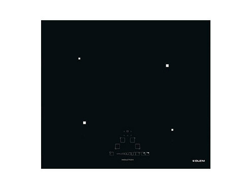 Induction built-in flush-mount hob GTIP64BK | Hob - Glem Gas