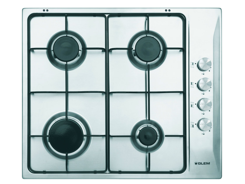 Gas built-in hob GTL64IX | Hob - Glem Gas