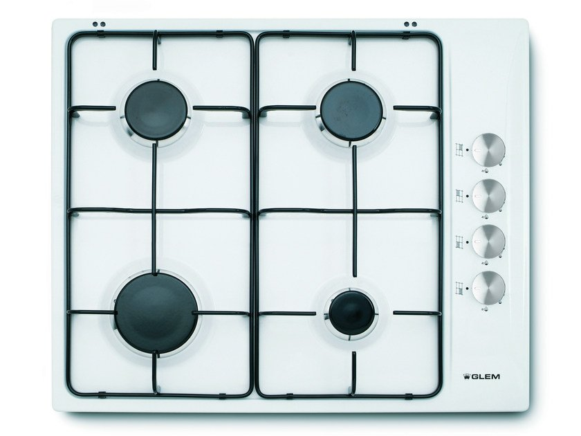 Gas built-in hob GTL64WH | Hob - Glem Gas