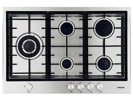 Gas built-in hob GTPF855HIX | Hob by Glem Gas
