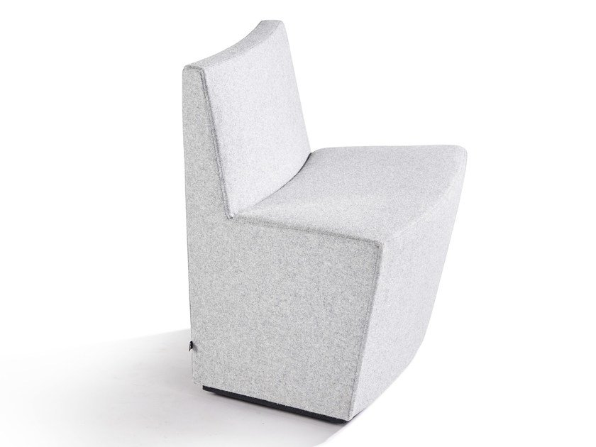 Fabric easy chair GUELL | Fabric easy chair - Derlot Editions