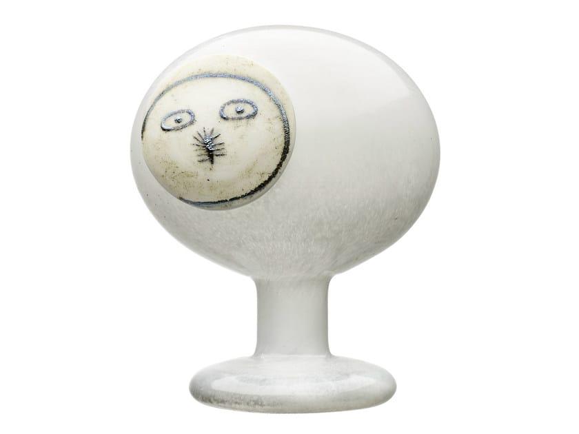 Blown glass decorative object GUFO DELLA NOTTE PORALE MASCHIO - iittala