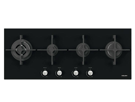 Gas flush-mount hob GVP145HBK | Hob by Glem Gas