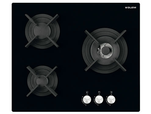 Gas built-in hob GVP635HBK | Hob - Glem Gas