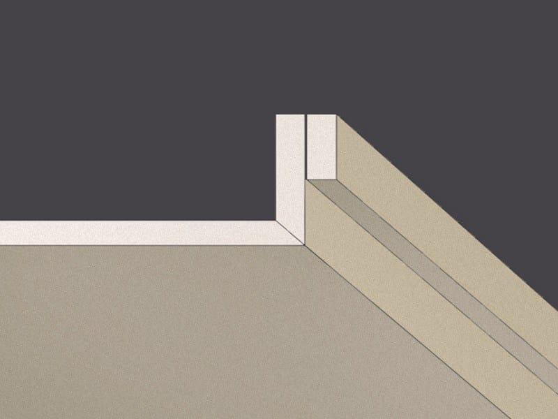 Plasterboard slats with spacer strip GYPS LINEAR - Gyps