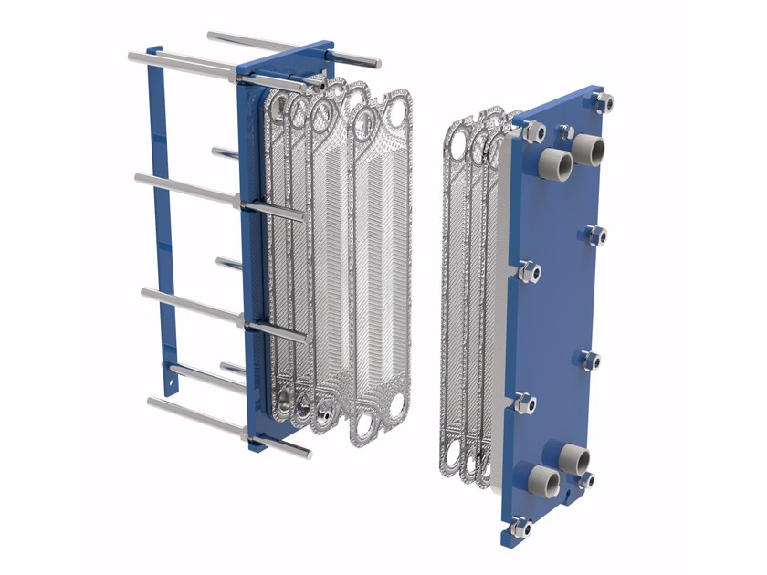 Gasketed Plate Heat Exchanger SERIE K - F - Fiorini Industries