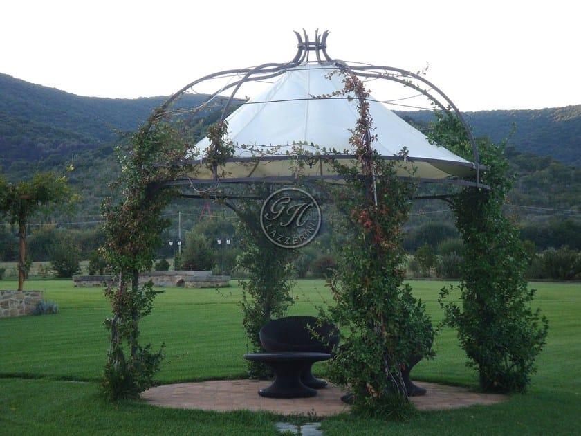 Wrought iron gazebo Gazebo 4 - Garden House Lazzerini