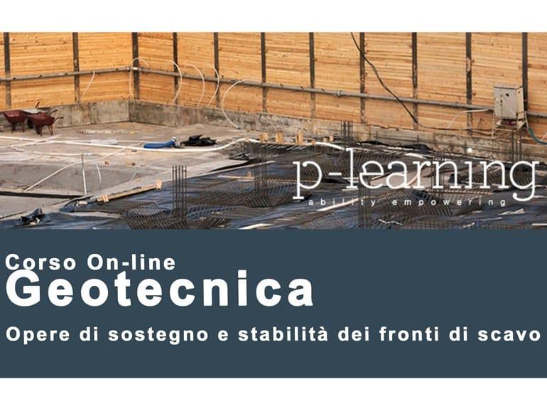 Structural Design Video Training Course Geotecnica opere di sostegno e stabilità - P-Learning